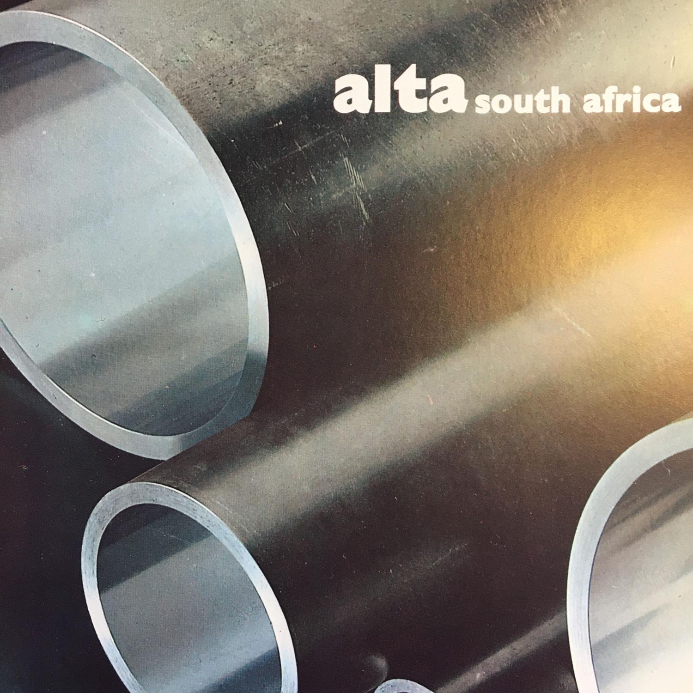 Pagina pubblicitaria Alta Sud Africa