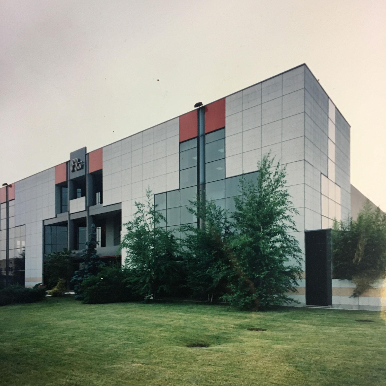 Lo stabilimento ALTA realizzato nel 1985