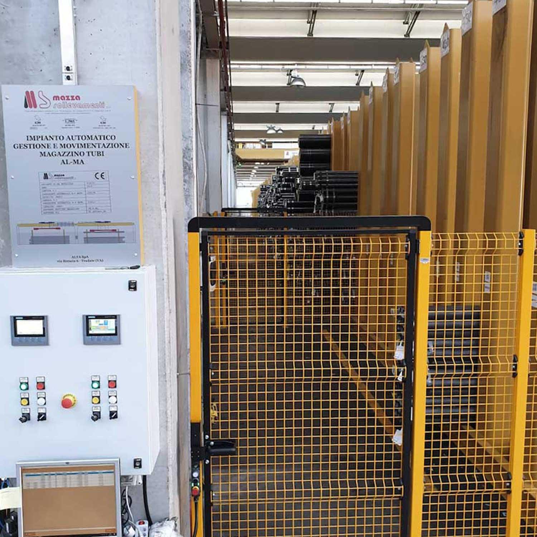 il nuovo magazzino automatizzato di Alta Spa
